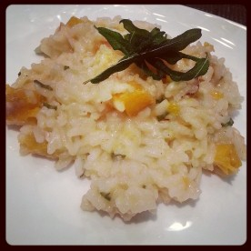 Victory White Roasted Butternut Squash Risotto Crispy Sage