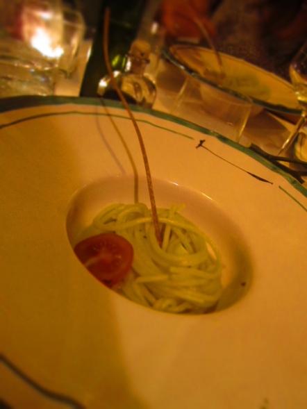 Spaghetti with Colatura