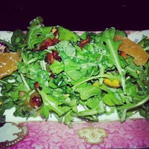 Arugula, Clementine & Pistachio Salad